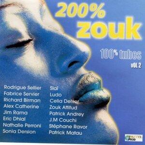 200% zouk 100% tubes, Vol. 2 歌手頭像