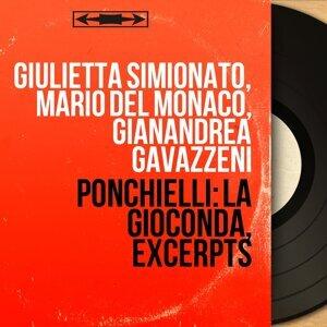 Giulietta Simionato, Mario Del Monaco, Gianandrea Gavazzeni 歌手頭像