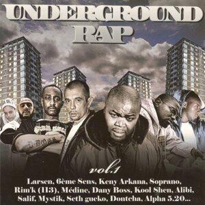 Underground Rap Vol. 1 歌手頭像