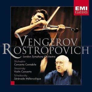 Maxim Vengerov, Mstislav Rostropovich, London Symphony Orchestra