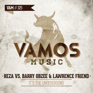 Reza, Barry Obzee, Lawrence Friend 歌手頭像