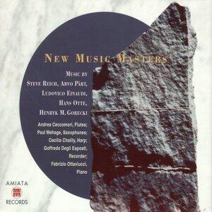 Steve Reich, Arvo Part, Ludovico Einaudi, Hans Otte, Henryk M Gorecki