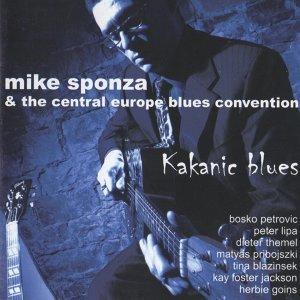 Mike Sponza, The Central Europe Blues Convention 歌手頭像