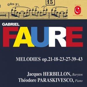 Jacques Herbillon, Théodore Paraskivesco 歌手頭像