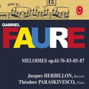 Jacques Herbillon, Thédore Paraskivesco 歌手頭像