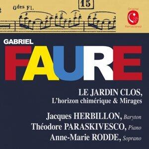Jacques Herbillon, Anne-Marie Rodde, Thédore Paraskivesco 歌手頭像