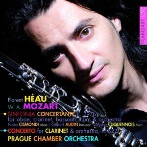 Florent Héau, Nora Cismondi, Gilbert Audin, Misha Cliquennois, Prague Chamber Orchestra 歌手頭像