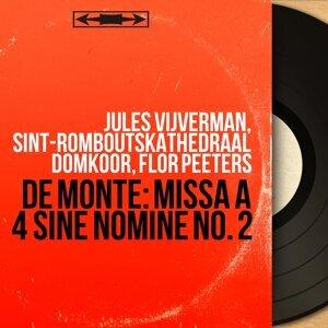Jules Vijverman, Sint-Romboutskathedraal Domkoor, Flor Peeters 歌手頭像