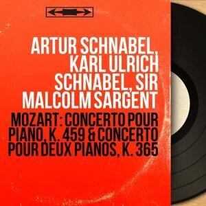 Artur Schnabel, Karl Ulrich Schnabel, Sir Malcolm Sargent 歌手頭像