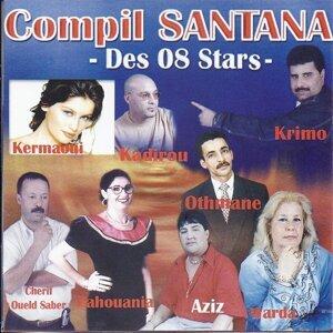 Compilation Santana des 8 stars 歌手頭像