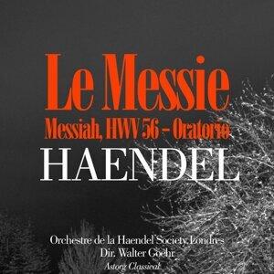 Orchestre de la Haendel Society Londres, Walter Goehr 歌手頭像