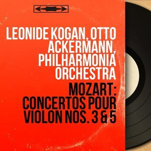 Leonide Kogan, Otto Ackermann, Philharmonia Orchestra 歌手頭像