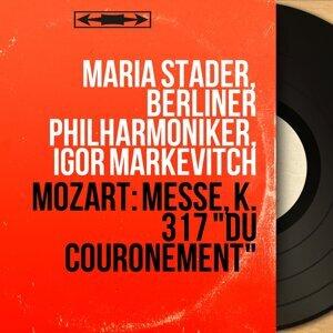 Maria Stader, Berliner Philharmoniker, Igor Markevitch 歌手頭像