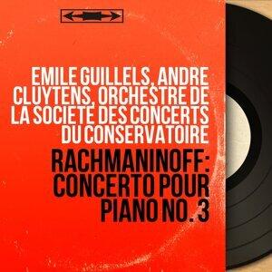 Emile Guillels, André Cluytens, Orchestre de la Société des Concerts du Conservatoire 歌手頭像