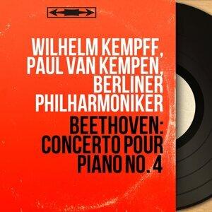 Wilhelm Kempff, Paul van Kempen, Berliner Philharmoniker 歌手頭像
