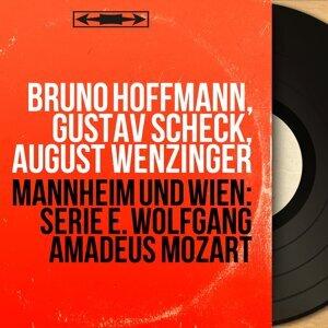 Bruno Hoffmann, Gustav Scheck, August Wenzinger 歌手頭像