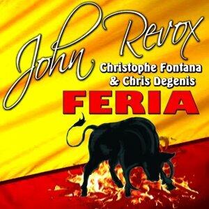 John Revox, Christophe Fontana, Chris Degenis 歌手頭像