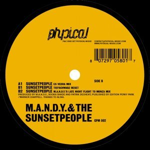 M.A.N.D.Y. & the Sunsetpeople 歌手頭像