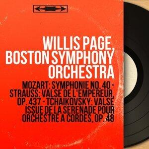 Willis Page, Boston Symphony Orchestra 歌手頭像