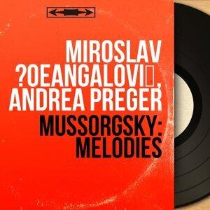 Miroslav Čangalović, Andrea Préger 歌手頭像