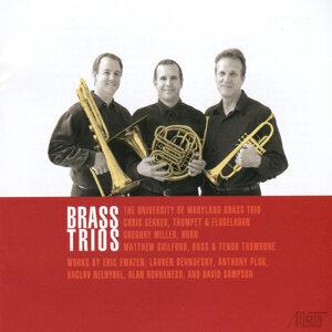 The University of Maryland Brass Trio 歌手頭像