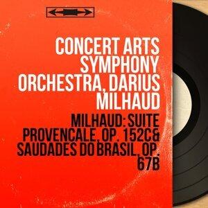 Concert Arts Symphony Orchestra, Darius Milhaud 歌手頭像