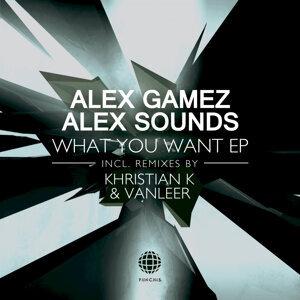 Alex Gamez, Alex Sounds 歌手頭像