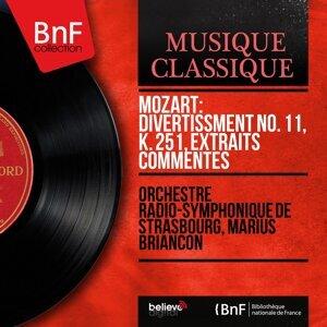 Orchestre radio-symphonique de Strasbourg, Marius Briançon 歌手頭像