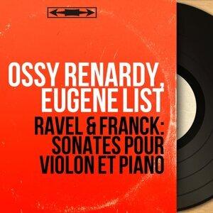 Ossy Renardy, Eugene List 歌手頭像