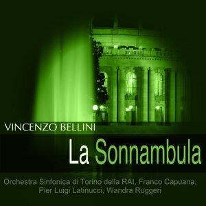 Orchestra Sinfonica di Torino della RAI, Franco Capuana, Pier Luigi Latinucci, Wandra Ruggeri 歌手頭像