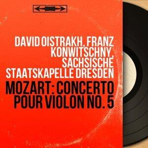 David Oïstrakh, Franz Konwitschny, Sächsische Staatskapelle Dresden 歌手頭像