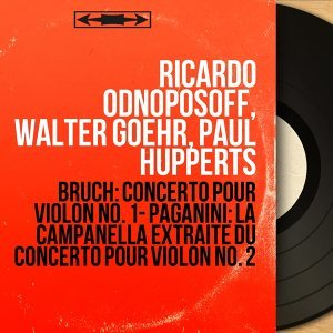 Ricardo Odnoposoff, Walter Goehr, Paul Hupperts 歌手頭像