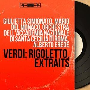 Giulietta Simionato, Mario Del Monaco, Orchestra dell'Accademia nazionale di Santa Cecilia di Roma, Alberto Erede 歌手頭像