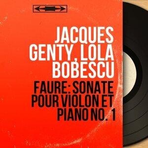 Jacques Genty, Lola Bobescu 歌手頭像