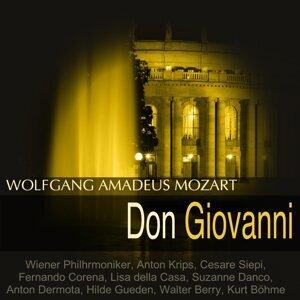 Wiener Philharmoniker, Anton Krips, Cesare Siepi, Fernando Corena 歌手頭像