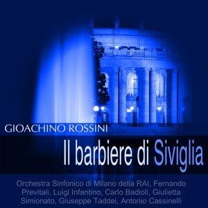 Orchestra Sinfonico di Milano della RAI, Fernando Previtali, Luigi Infantino, Carlo Badioli 歌手頭像