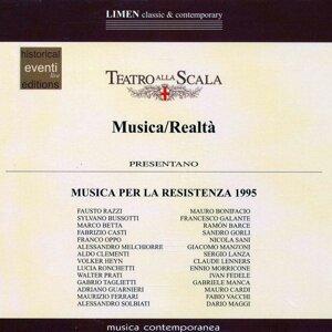 Musica per la Resistenza 1995 歌手頭像