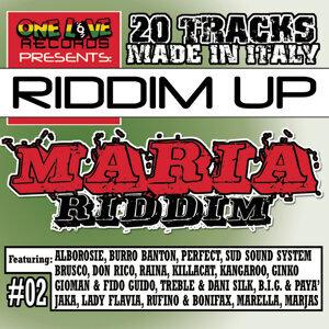 Riddimup#2: Maria riddim 歌手頭像