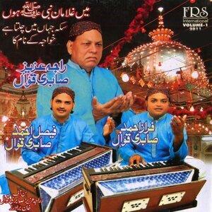 Raja Aziz, Faisal Ahmed, Faraz Ahmed Sabir Qawwal 歌手頭像