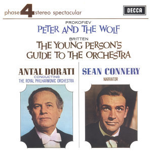 Antal Doráti,Royal Philharmonic Orchestra,Sean Connery 歌手頭像