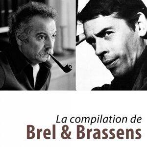 Jacques Brel, Georges Brassens 歌手頭像