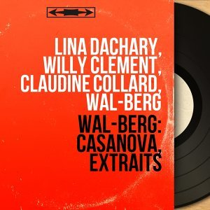 Lina Dachary, Willy Clément, Claudine Collard, Wal-Berg 歌手頭像
