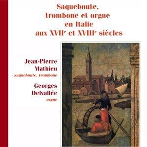 Jean-Pierre Mathieu, Georges Delvallée 歌手頭像