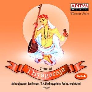 Maharajapuram Santhanam, Madurai T. N. Seshagopalan, Radha - Jayalakshmi 歌手頭像