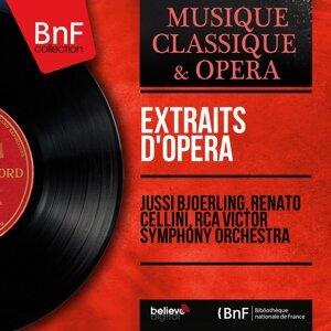 Jussi Bjoerling, Renato Cellini, RCA Victor Symphony Orchestra 歌手頭像