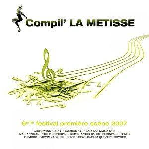 Compilation la métisse 2007 歌手頭像
