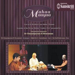 Dr. Umayalpuram K. Sivaraman, Sikkil Sri C. Gurucharan, Sri Anil Srinivasan 歌手頭像