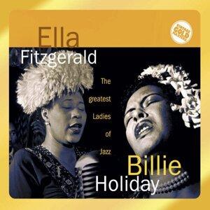 Billie Holiday, Ella Fitzgerald アーティスト写真