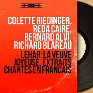 Colette Riedinger, Reda Caire, Bernard Alvi, Richard Blareau 歌手頭像