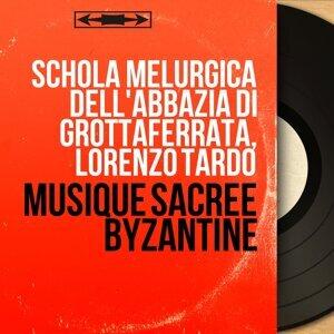 Schola Melurgica dell'abbazia di Grottaferrata, Lorenzo Tardo 歌手頭像